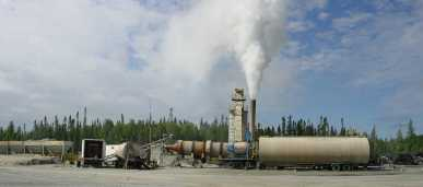 069 - Asphalt Plant in Production Wide view