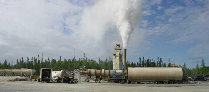 069 - Asphalt Plant in Production Wide view