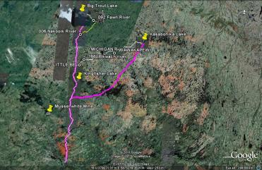 Asheweig Routes